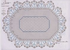 Oval Doily | Crochet Knitting Handicraft | Bloglovin'
