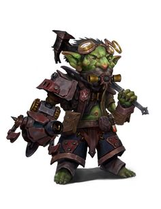 Goblin Tech Guy by giantwood on DeviantArt