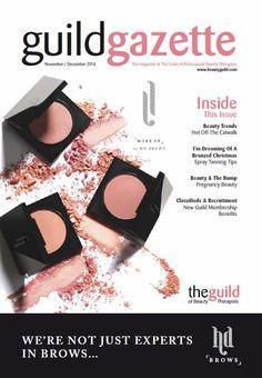 Nov/Dec 2014 Guild Gazette with HD Brows Front Cover