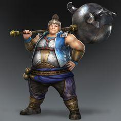 Xu Zhu & Weapon (Wei Forces)