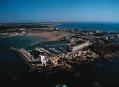 Port de plaisance de Sidi Fredj à l'ouest d'Alger, Algérie.