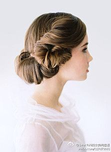 Modernized Leia hair