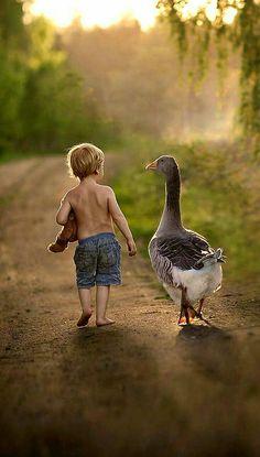 Una buena compañía siempre hará el viaje más placentero...