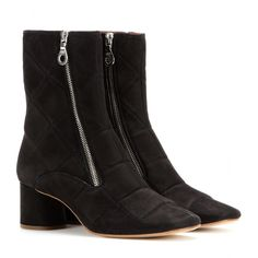 mytheresa.com - Suede ankle boots - Mid-heel - Ankle boots - Shoes - Marc Jacobs - Luxury Fashion for Women / Designer clothing, shoes, bags