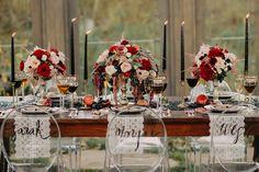 Edgy-Glam Wedding Inspiration at Cottonwood Glen | Green Wedding Shoes Wedding Blog | Wedding Trends for Stylish + Creative Brides