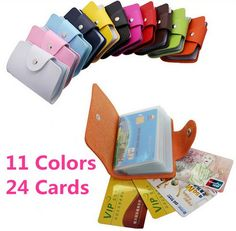 Business Credit Card Wallet Holder Bags