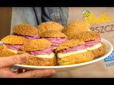 Słodka Kuchnia Pszczółek - Ptysie z kruszonką - YouTube Youtube, Nyc, Breakfast, Food, Morning Coffee, Meals, Yemek, Youtubers, New York City