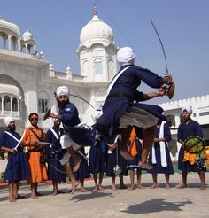 Sikh Martial Arts called Gatka ~ An ancient tradition back dated to more than 300 years is still alive.