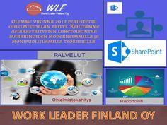 Business Intelligence tai BI viittaa käyttöön sovelluksia, taidot ja teknologiat prosessi tehdä terveen liiketoiminnan päätöksiä, jotka vaikuttavat tulokseen yrityksen toimintaa. Maailman suurimmat organisaatiot ovat käyttäneet paljon in Business Intelligence, ja ovat hektinen hyötyy. Work Leader Finland antaa sinulle täyden hallinnan ratkaisu liittyvät Business Intelligence (BI). Soita tänään 045 3540025 tai käymällä osoitteessa www.workleader.fi