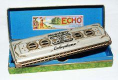 1925 Hohner Enameled Echophone harmonica   Flickr - Photo Sharing!