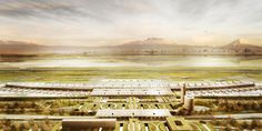 Proposal for new airport in Mexico City | designboom