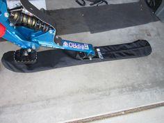 Skibike ski covers - custom, padded, 1000D Cordura construction
