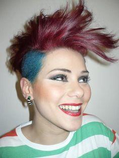 dyed sidecut