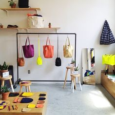 Visit the Baggu store. Going to need a good school bag for next semester!