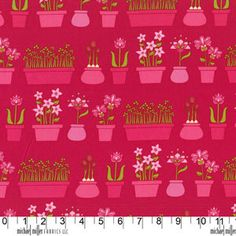 Lush By Patty Young for Michael Miller Raspberry by PamsFabricNook