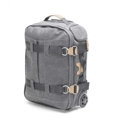 Qwstion - 3 Day Travel Bag - Washed Grey - Suitcase - Luggage