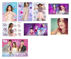 """""""Violetta 2"""" by julia-clv ❤ liked on Polyvore featuring arte"""
