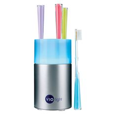 UV Toothbrush sanitizer kills up to 99.99% of germs using a powerful germicidal UV bulb.