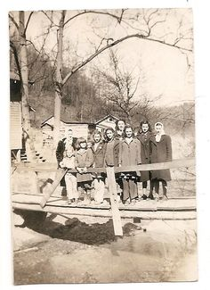 Laura E Lewis School Group Kentucky Vintage by FamilyTreeAntiques, $6.00