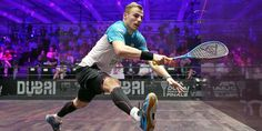 Matthew Eyeing Up Sixth Canary Wharf Classic Crown - Professional Squash Association