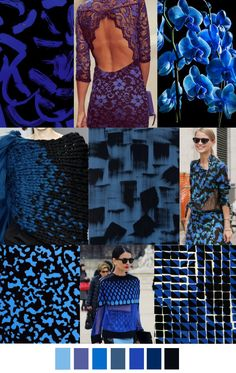 BLACK & BLUE | pattern curator