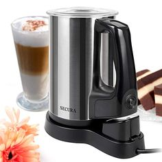 Secura Magnetic Motor Automatic Electric Milk Frother and Warmer >>> Find out more about the great product at the image link. (This is an affiliate link) Chocolate Dome, Chocolate Espresso, Chocolate Mugs, Chocolate Lovers, Candy Bar Gifts, Polycarbonate Chocolate Molds, Martini Wine, Chocolate Fondue Fountain, Godiva Chocolatier