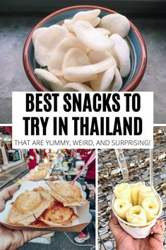 Foodie travel 206110120434266265 - Looking for Thailand snacks to try during your trip or bring back home as souvenirs? Check out this ultimate list of best snacks in Thailand! Source by travelscribes Thailand Vacation, Thailand Travel Guide, Visit Thailand, Asia Travel, Singapore Vacation, Thailand Honeymoon, Krabi Thailand, Honeymoon Ideas, Beach Travel