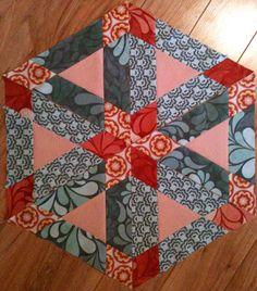 Fabric: Salt Air Pattern: Hopscotch