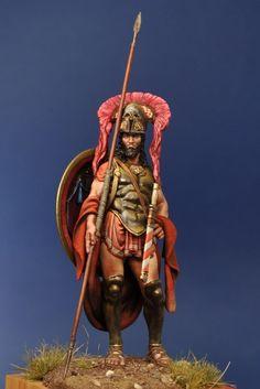 Pausanias, Spartan Strategos, 479 aC. 75MM. Alexandros Models.