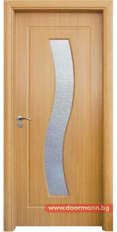 Интериорна врата - Код 066, Цвят Светъл Дъб
