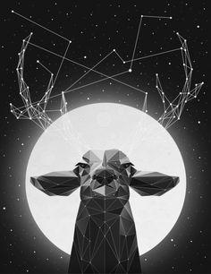 The Banyan Deer Art Print by Young Davis.