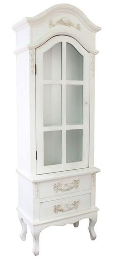 Ivory Wooden Armoire