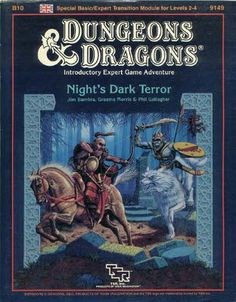Swords & Stitchery - Old Time Sewing & Table Top Rpg Blog: Retro Review of B10 Night's Dark Terror For Basic & Expert Dungeons & Dragons Campaigns And Your Old School Campaigns