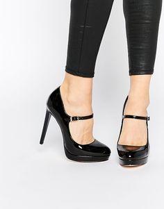 fced72e6cad Faith Chrissie Black Patent Mary Jane Shoes at asos.com. Hot ShoesWomen s  ShoesPumps ...