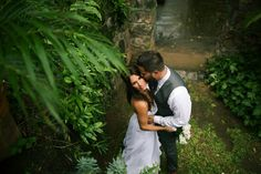 Forest Bridal Romance / Anna Kim Photography