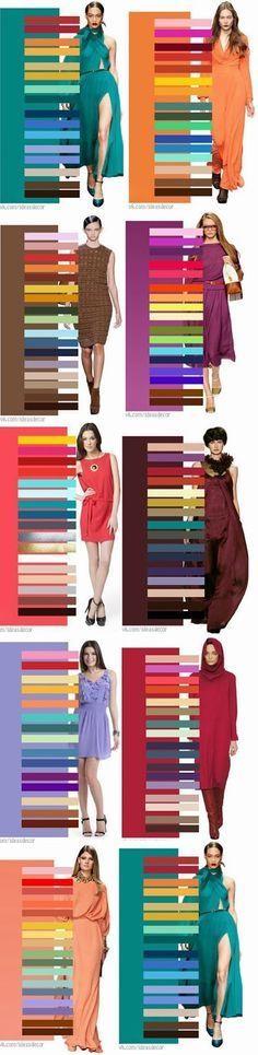 color according to fashion Rachel´s Fashion Room: Cómo combinar los colores | How to combine colors