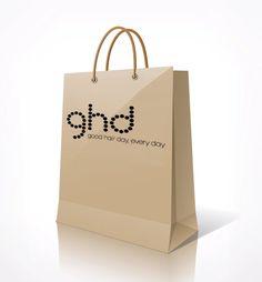 ghd Paper Shopping Bag.