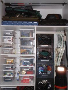 Gear Closet Man Room Luxury Lighting Gears Organization Storage Ideas