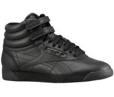c5a5e2e4 Reebok Freestyle HI Reebok Freestyle, Foot Locker, Girls Shoes, High Top  Sneakers,
