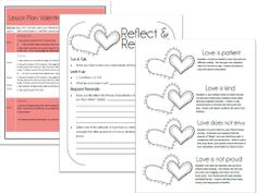 A lesson with activities for Valentine's Day.  Deals with a biblical look at love based on 1 Corinthians 13.