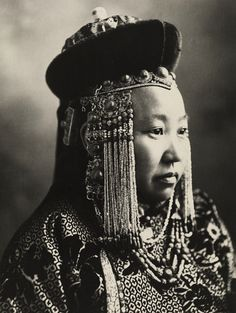 Mongolia traditional headdress