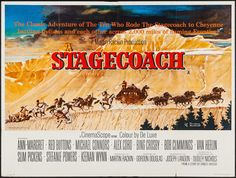 Stagecoach (1966) Stars: Ann-Margret, Alex Cord, Red Buttons, Mike Connors, Bing Crosby, Robert Cummings, Van Heflin, Slim Pickens, Stefanie Powers, Keenan Wynn ~ Director: Gordon Douglas (British Poster)