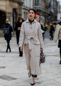 Street Style bei der London Fashion Week