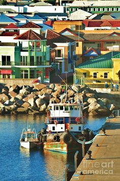 Tugboat in St Kitts Harbor    I need to visit this place ASAP