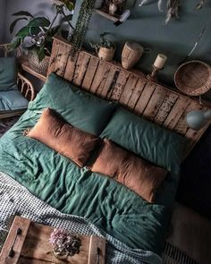 Bohemian Bedroom And Home Decoration Ideas Bohemian Bedroom Decor Bedroo Bedroom Bohemian Decoration Hom Home Ideas Teal Bedroom Decor, Bedroom Green, Cozy Bedroom, Bedroom Ideas, Nature Bedroom, Bedroom Setup, Bedroom Small, Modern Bedroom, Contemporary Bedroom
