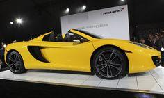 McLaren unveils a MP4-12C Spider