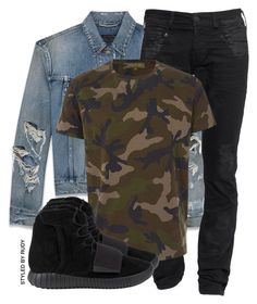 """""""Untitled #505"""" by styledbyrudy ❤ liked on Polyvore featuring Yves Saint Laurent, True Religion, Valentino, adidas, mens, men, men's wear, mens wear, male and mens clothing"""