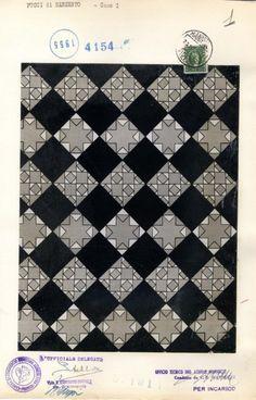 Emilio Pucci, pattern 1955. (1914-1992) | Archivi della moda del novecento