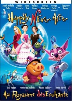 Au Royaume DésEnchanté / Happily N'Ever After (Bilingual) Crystal Films http://www.amazon.ca/dp/B000O75GYO/ref=cm_sw_r_pi_dp_Aey3ub0QC479D
