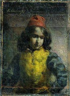 Paz florencki / Page from Florence, Aleksander Gierymski, 1884 Online Art, Art History, Florence, Illusions, Art For Kids, Portraits, Artists, Gallery, Children